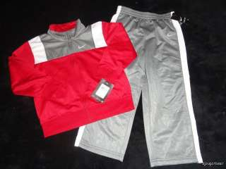 TODDLER ATHLETIC TRACK WARM UP SUIT PANTS JACKET 4 4T NWT $50