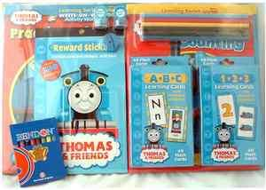 Thomas & Friends Train Learning Set, Stickers, Books, Writing Board