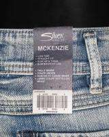 SILVER Jeans LOW RISE STRAIGHT FIT BOOTCUT LT BLUE MCKENZIE