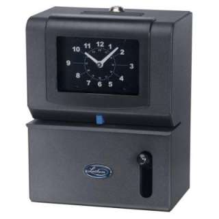 Lathem State of the Art Employee Time Stamp with Analog Time Clock
