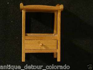VINTAGE SONIA MESSER Miniature Furniture   Night Stand