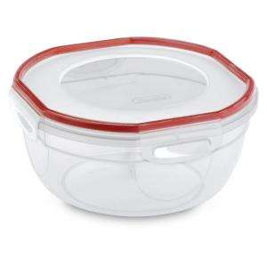 Sterilite Ultra Seal 2.5 quart Bowl Food Storage Container (4 Pack