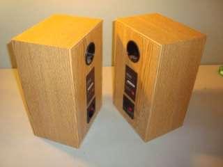 PAIR Of JBL J2045 Bookshelf SPEAKERS