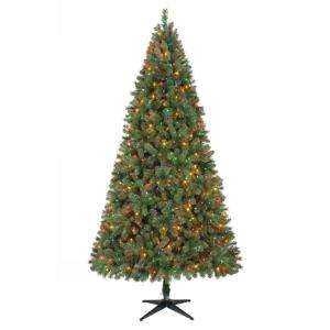 Lit Wesley Pine Tree Multi Color WEST1750765LEDM