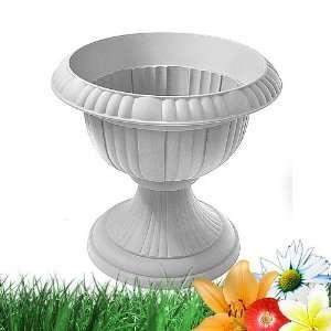 Blumenspindel aus Kunststsoff 40 cm in weiß: .de: Garten