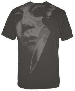 Halloween Michael Myers T Shirt Mask & Knife   T Shirt Gr. L