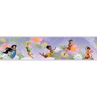 RoomMates Disney Fairies Peel and Stick Border RMK1492BCS at The Home