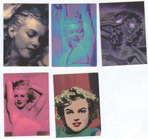 Marilyn Monroe Private Collection Limited Edition Cards