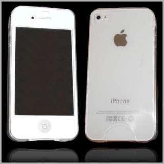 Handy Transparent Kondom Tasche für Apple iPhone 4 / 4G