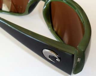 Costa Del Mar Hammerhead Polarized Sunglasses Black/Green Green Mirror