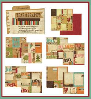 Simple Stories YEAR O GRAPHY COLLECTION Journaling Element 35p Kit NEW