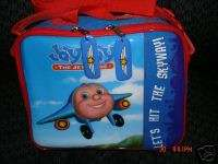 JAY JAY THE JET PLANE LUNCH BAG BOX STORAGE TOTE NEW
