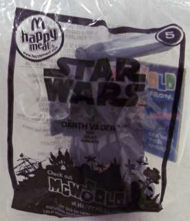 2010 MC DONALDS STAR WARS DARTH VADER # 5