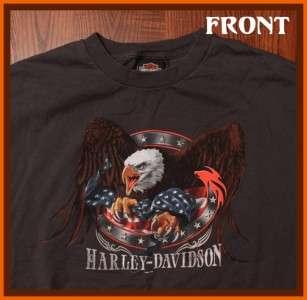 Harley Davidson Las Vegas Motorcycle Biker T Shirt XL