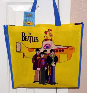 BEATLES Yellow Submarine SHOPPING TOTE GIFT BAG M New