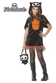 Skelanimals Oliver, the Owl Child Halloween Costume