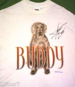 AARON TIPPIN 1999 Tour Shirt Hand Signed Autograph MEDIUM Never Worn T