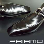 PRIAMO ITALY New Men Pointed LEATHER Shoes All US Sizes