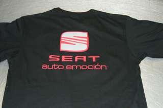 SEAT auto emoción Shirt hot!!! NEU!