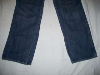 Old Navy Painters Blue Jeans Mens 36X34 Distressed