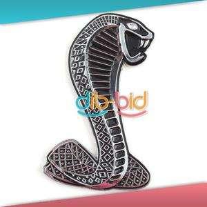 New Car Auto 3D Cobra Snake Emblem Badge Decal Sticker