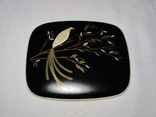 Rosenthal Charcoal 3310 Trinket Box with Pheasant, Bird