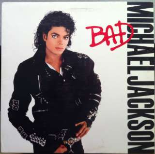 MICHAEL JACKSON bad LP mint  OE 40600 w/Fan Club insert