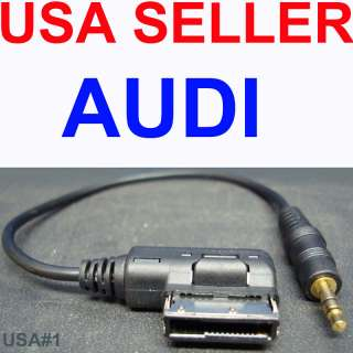 AUDI AMI 3.5MM  iPOD AUX INPUT 4F0051510K USA SELLER