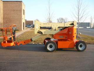 2003 JLG E400A BOOM LIFT ELECTRIC ARTICULATING MANLIFT AERIAL SERVICED