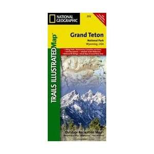 Grand Teton National Park Trails Illustrated   National Park Maps