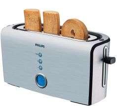 Philips HD 2618/00 Toaster Aluminium Serie / IF product design award