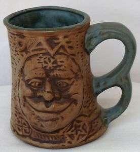 Vintage Jim Rumph Cross Eyed Ogre Tankard Mug Gremlin Inside 1971