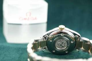 Omega Steel Rose Gold & Diamond Seamaster Aqua Terra 666.1110