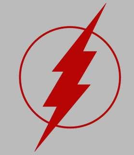 The Flash Window Decal Sticker Comic Superhero RED