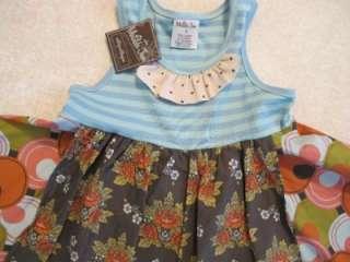 Matilda Jane Platinum Blue Moon Dress NWT Size 4 EASTER DRESS http
