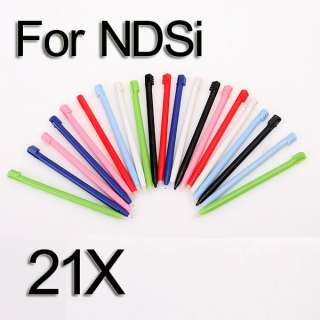 21 x Color Touch Stylus Pen For NINTENDO DSi NDSi Game