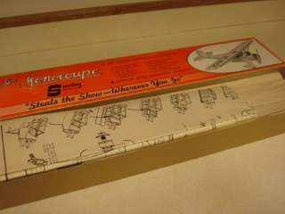 STERLING MONOCOUPE CONTROL LINE MODEL AIRPLANE KIT **