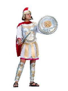 ADULT MENS FIERCE ROMAN CAESAR GREEK GLADIATOR COSTUME
