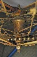 Vintage 1918 Mead Ranger Superbe bicycle bike wooden wheels