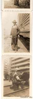 Vintage Union Pacific Railroad Worker Photo Archive OLD