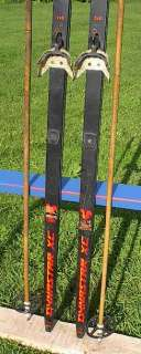 Cross Country 81 Skis 3 pin 210 cm +Poles DYNASTAR