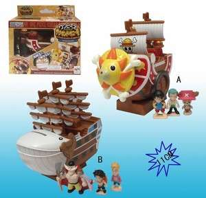 Neu Anime Manga One Piece Schiff Figuren 2Set 11CM 153