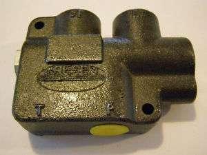 Parker Gresen CFD 50 2 NR Hydraulic Flow Control Val