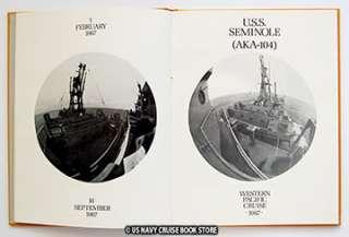 USS SEMINOLE AKA 104 WESTPAC VIETNAM CRUISE BOOK 1967