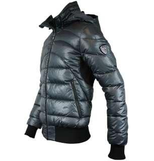 Emporio Armani EA7 271278 1W362 Mens Down Padded Jacket AW11 Smoke