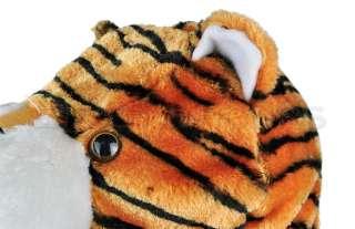 New Tiger Animal Cartoon Cute Fluffy Plush Hat Cap Warm