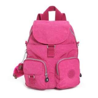 Kipling Firefly N Backpack / School Bag Carnation Pink BNWT RRP £65