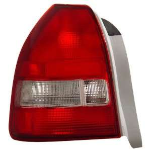 Anzo USA 221135 Honda Civic Red/Clear Tail Light Assembly   (Sold in