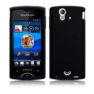 London Magic Store   Black Soft Silicone Case Cover For Sony Ericsson
