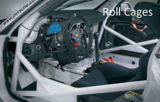 OMP also supply a large range of roll cage and roll bar accessories